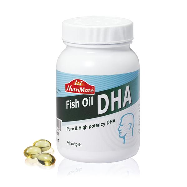 Nutrimate你滋美得 天然深海魚油DHA(90粒/罐)x1