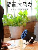 無葉usb小風扇迷你辦公室桌面用電風扇學生宿舍超靜音小電扇 樂芙美鞋