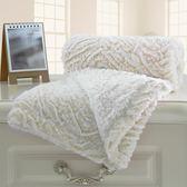 雙層復合小毛毯嬰兒童午睡保暖蓋毯加厚空調被子小毯【onecity】