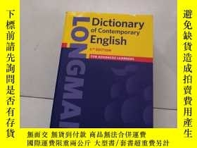 二手書博民逛書店罕見longman dictionary of contempo