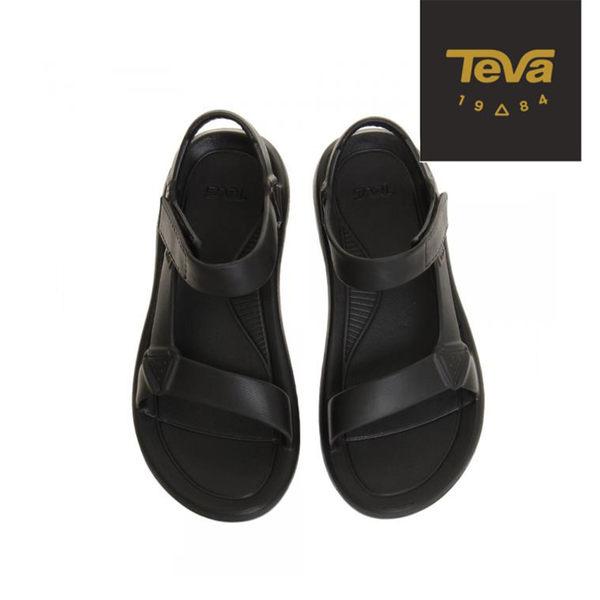 TEVA 男款 Hurricane Drift 休閒涼鞋 - 黑 1100270BLK