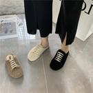 毛毛半拖鞋女外穿秋冬季2020年韓版新款加絨保暖爆款懶人包頭鞋子 後街五號