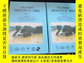 二手書博民逛書店Flood罕見Defence 2002 第二屆國際防洪會議論文集