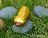 USB打火機充電防風點煙器創意男女生日禮物個性創意禮品吉祥豬   瑪奇哈朵