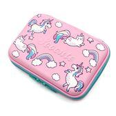 韓版大容量文具盒女小學生粉色獨角獸可愛卡通筆盒兒童筆袋鉛筆盒【小梨雜貨鋪】
