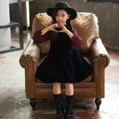 女童洋裝 童裝女童秋裝新款洋裝兒童洋氣公主裙韓版潮衣兒童裙子春秋  凱斯盾數位3c