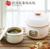 電燉鍋迷你煮粥神器煲湯陶瓷隔水燉家用全自動小燕窩電燉盅 220V YYP