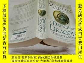 二手書博民逛書店A罕見DANCE WITH DRAGONS(與龍共舞)Y200392