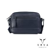 【VOVA】  公爵系列職人單層斜背包(爵士藍)VA120S06BL