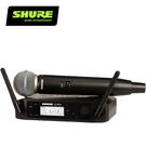 SHURE GLXD24 / BETA58 人聲麥克風數位無線系統-適用於現場表演及工作室錄音/原廠公司貨
