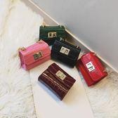 新款韓版兒童包包時尚女童斜挎包鏈條迷你印花公主挎包寶寶小包包 薔薇時尚