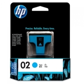 HP 原廠青綠色墨水匣 C8771WA 02號 適用 Photosmart 3110/3310/8230