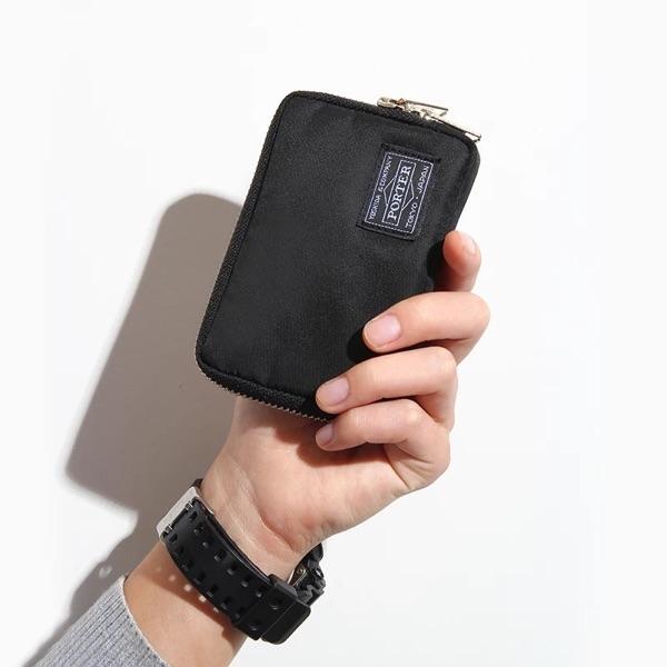 新品潮牌吉田男女手拿零錢包硬幣包卡包手拿包小錢包防水迷你小包