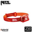 【PETZL 法國 TIKKINA頭燈《紅》】E091DA01/250流明/頭燈/登山露營/手電筒/緊急照明