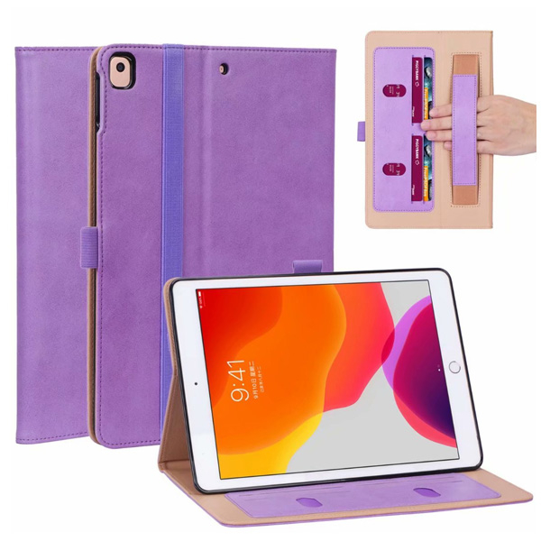 蘋果 iPad Air3 10.5 iPad 10.2 Pro 10.5 四插卡平板套 平板皮套 插卡 支架 手托 平板保護套