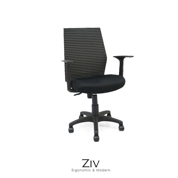 辦公椅/電腦椅 Ziv時尚彈力透氣網布電腦椅【obis】