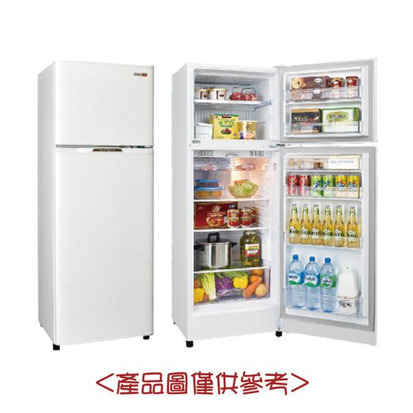 【SAMPO聲寶】250L定頻雙門冰箱SR-L25G (S2/W2)雅典白