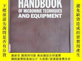 二手書博民逛書店handbook罕見of microwave techniques and equipment(P2140)Y