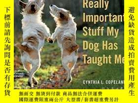 二手書博民逛書店Really罕見Important Stuff My Dog Has Taught Me-我的狗教會了我很多重要的