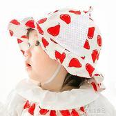 嬰兒帽子薄款春秋夏季遮陽防曬漁夫帽男女寶寶帽兒童太陽帽盆帽潮 原本良品
