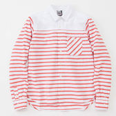 CHUMS 日本 女 日本 文青條紋襯衫 3色 ◆零碼WL CH121027R001