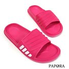 PAPORA防水輕量好走休閒拖鞋K7103黑色/藍色/粉色 女款