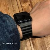 適用于apple watch磁吸回環表帶 iwatch 1/2/3/4/5代手表表帶42mm38蘋果手表表帶40mm44 【米家科技】