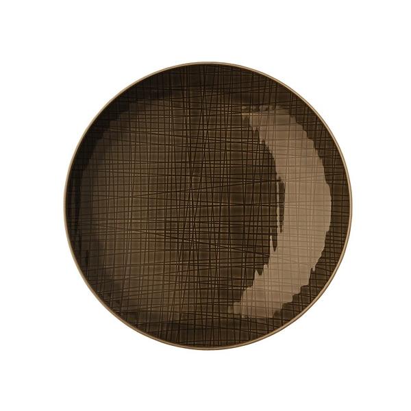 德國 Rosenthal Mesh圓深盤-咖啡