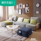 沙發北歐風格布藝沙發小戶型客廳現代布沙發...