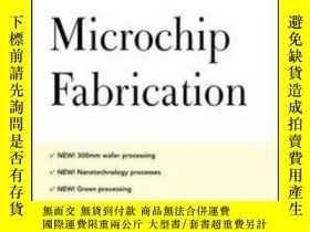 二手書博民逛書店Microchip罕見Fabrication, 5th Ed.Y