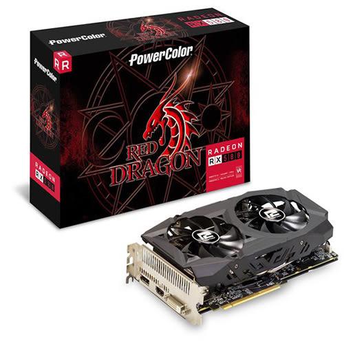 PowerColor 撼訊 紅龍 Radeon RX 580 8GB GDDR5 顯示卡 AXRX 580 8GBD5-DHD/OC