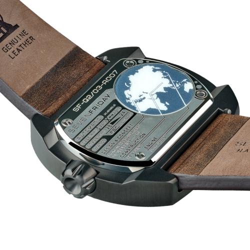 【SEVENFRIDAY】Q2-3 瑞士品牌自動上鍊機械腕錶