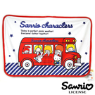 巴士款【日本進口正版】三麗鷗 絨毛 毯子 毛毯 冷氣毯 小毯子 Sanrio 153327