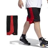 Adidas 男 黑 紅 短褲 籃球褲 雙面穿 團體籃球褲 球褲 透氣 球衣 短褲 刺繡 運動褲 CD8685