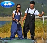 捕魚褲加厚防水耐磨防電透氣全身連身下水褲抓魚褲釣魚褲漁具垂釣HM 衣櫥の秘密