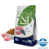 【寵物王國】FARMINA法米納 -ND挑嘴成貓天然無穀糧(羊肉藍莓)1.5kg