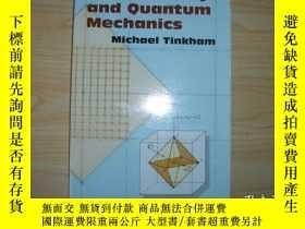 二手書博民逛書店【英文原版】《羣論與量子力學》罕見Group Theory an