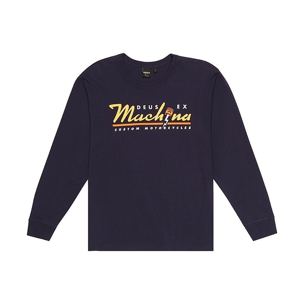 Deus Ex Machina   Bolting Ls Tee  長袖T恤-黑(男/女)