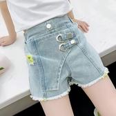 女童短褲外穿夏季2020新款十歲女孩7薄款洋氣百搭8兒童牛仔褲子9 漾美眉韓衣