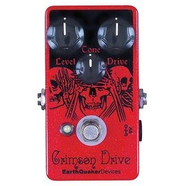 美國 Earthquaker Device Crimson Overdrive 破音 效果器 總代理公司貨 保固一年