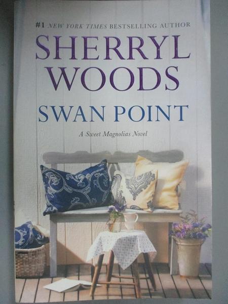 【書寶二手書T5/原文小說_CAF】Swan Point_Woods, Sherryl