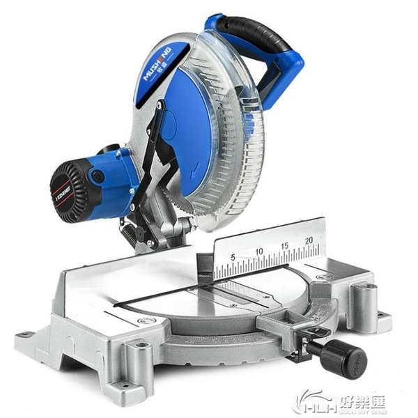 牧盛10寸12寸高精準鋸鋁機多功能45度鋁合金木材切割機斜切界鋁鋸 好樂匯