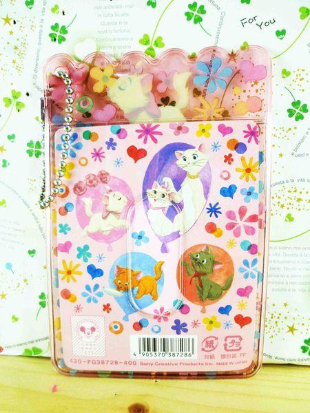 【震撼精品百貨】The Aristocats Marie 迪士尼瑪莉貓~票卡夾-花