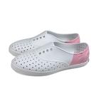 native 休閒鞋 洞洞鞋 白/粉紅 女鞋 11300402-1979 no034