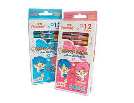 筆樂 Penrote PG7909 BERRY BABE 12色六角粉蠟筆-12盒入 / 盒
