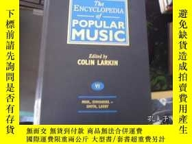 二手書博民逛書店the罕見encyclopedia of popular mus