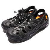HI-TEC Trail OX Shandal 拓荒者 護趾涼鞋 黑 灰 朔溪水陸兩用 涼鞋 男鞋 米其林大底 【PUMP306】 O006003021