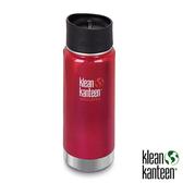 klean kanteen Insulated Wide 16oz寬口保溫鋼瓶(54mm) 附新型咖啡蓋『彩椒紅』K16VWPCC不鏽鋼水壺│保溫杯