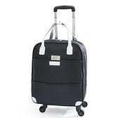 大容量拉桿式旅行包輕便手提牛津布可折疊行李箱打工行李包拖拉包 - 風尚3C
