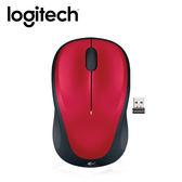 Logitech 羅技 M235 無線滑鼠 紅【買就送★透明文件袋】